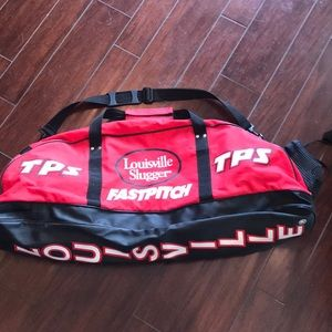 Large Louisville Slugger Fast Pitch Baseball Bag